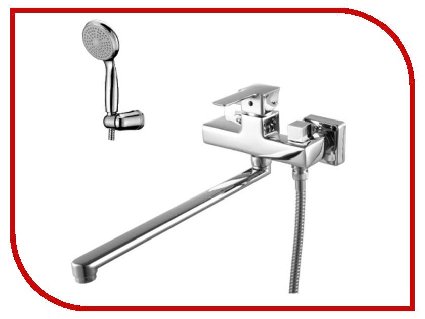 Смеситель Lemark Basis LM3617C смеситель для ванны коллекция basis lm3617c однорычажный хром lemark лемарк