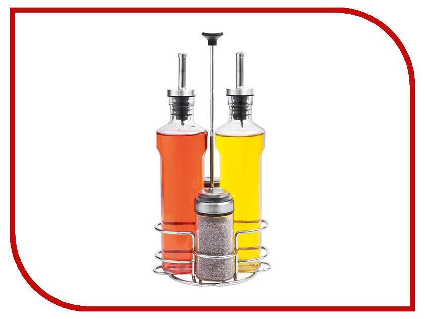 Набор бутылок для масла, уксуса и емкостей для специй Nadoba Petra 741015 набор else palermo для масла уксуса и специй 5 предметов