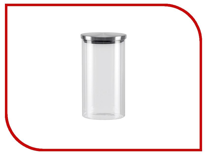Емкость для сыпучих продуктов Nadoba Silvana 1L 741411 форма для 6 маффинов 29 4х21х3 5 см nadoba rada 761016