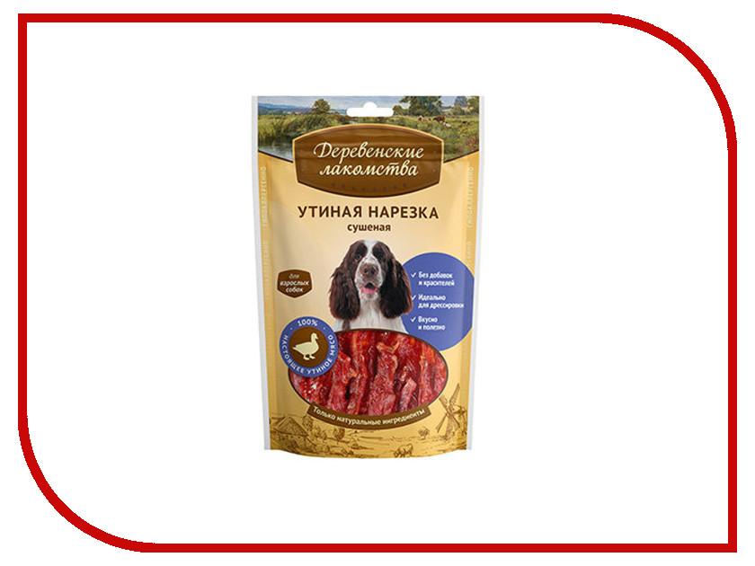 Лакомство Деревенские лакомства 100% Мяса Утиная нарезка сушеная 100г Традиционные для собак 79711212