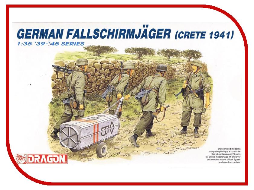 Сборная модель Dragon Немецкие парашютисты 6070 немецкие карнизы где можно