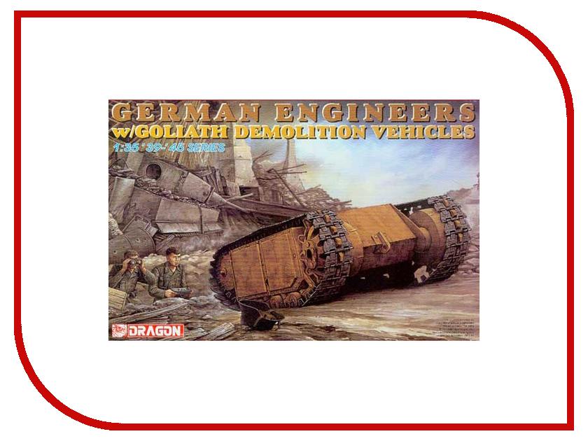 Сборная модель Dragon German Engineers w/Goliaf 6103 сумка other 6103