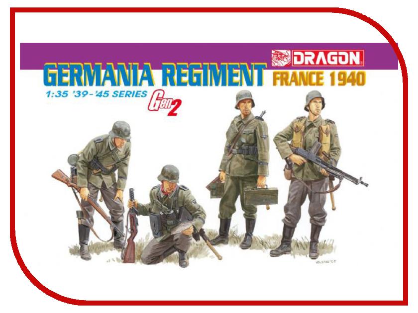 Сборная модель Dragon Солдаты Germania 6281