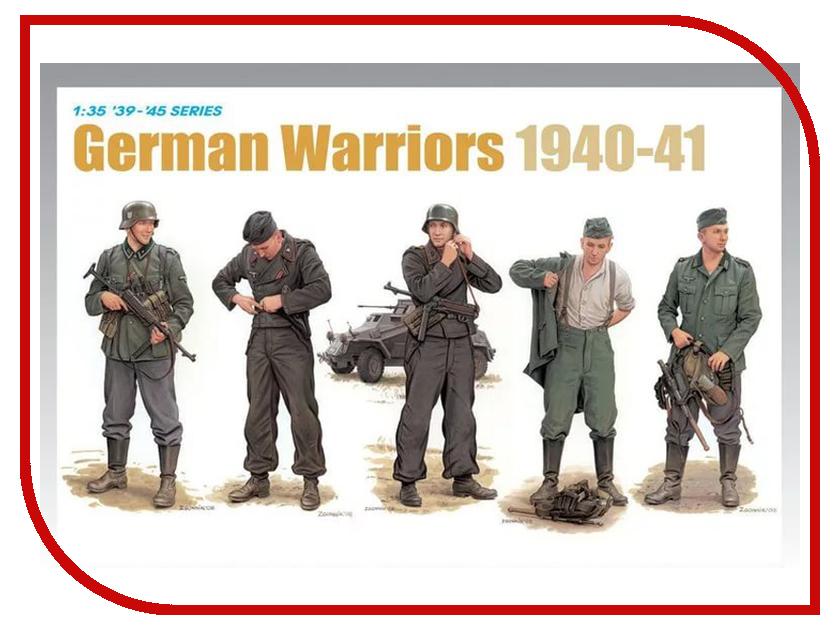 Сборная модель Dragon Немецкие воины 1940-41 6574 немецкие карнизы где можно