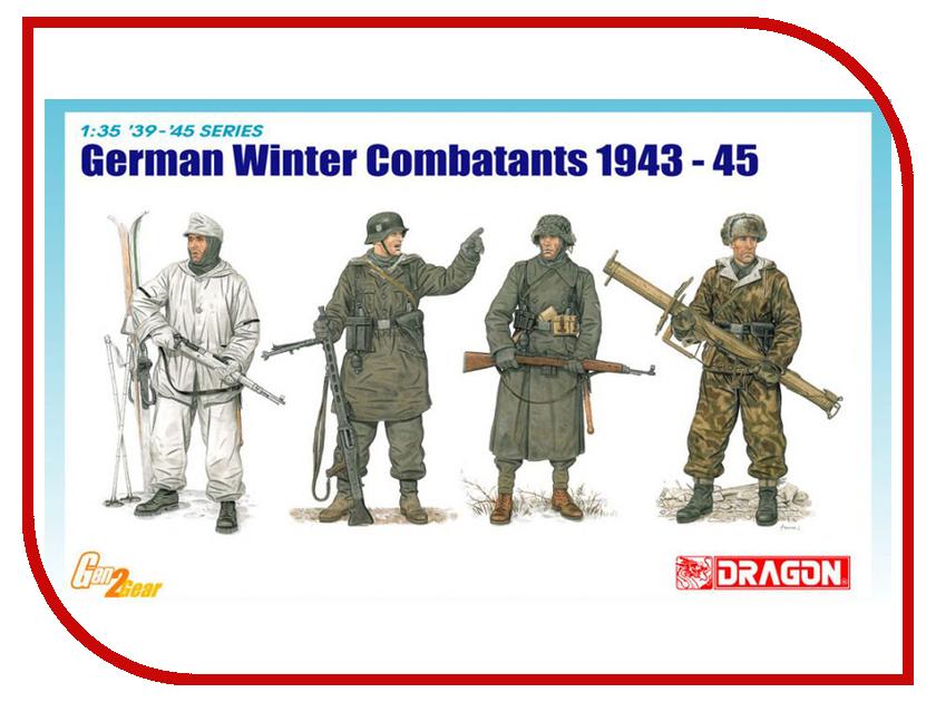 Сборная модель Dragon Немецкая пехота Зима 6705 сборная модель dragon t 34 85m 3318