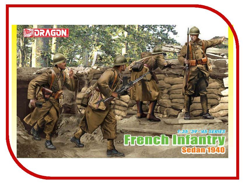 Сборная модель Dragon Французская пехота 6738 сборная модель dragon t 34 85m 3318