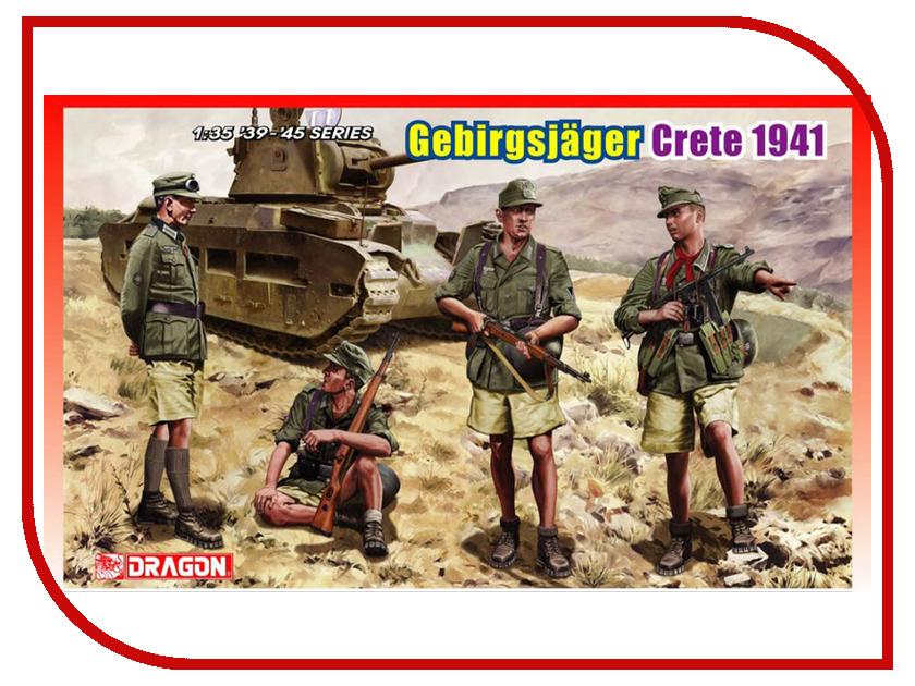 Сборная модель Dragon Немецкие горные стрелки 6742 немецкие карнизы где можно