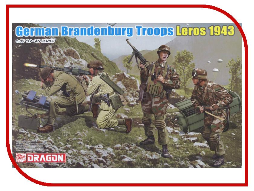 Сборная модель Dragon Немецкие войска Brandenburg 6743 немецкие карнизы где можно