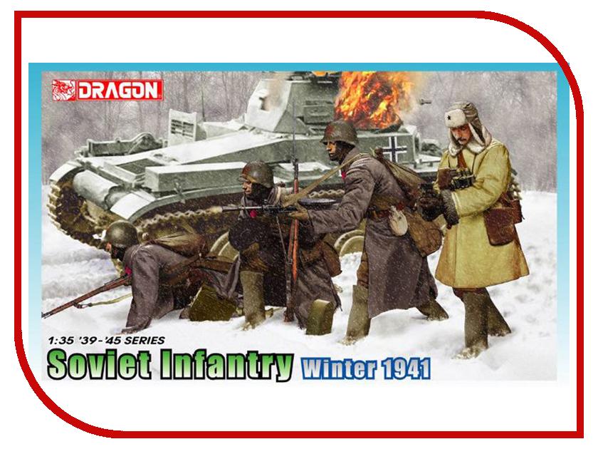 Сборная модель Dragon Советская пехота Зима 6744 сборная модель dragon t 34 85m 3318