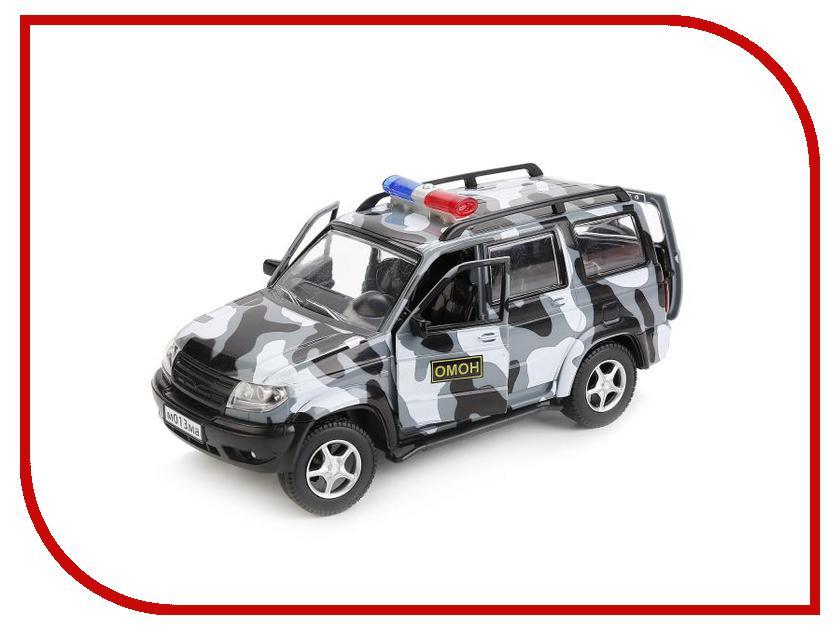 Игрушка Технопарк УАЗ Патриот X600-H11003-R машинка технопарк уаз патриот полиция 1 50