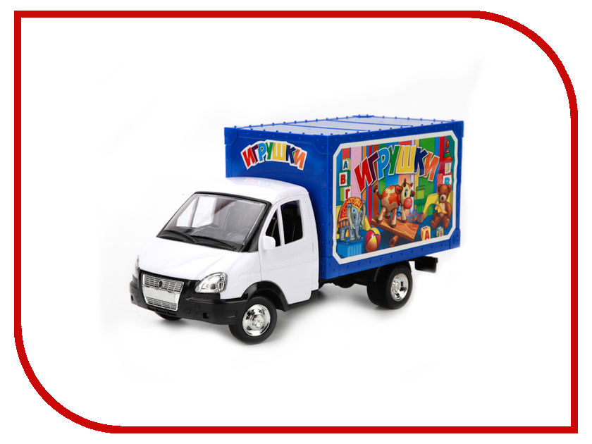 Машина Технопарк Газель Z560-H11001-R технопарк модель автомобиля газель дорожные работы