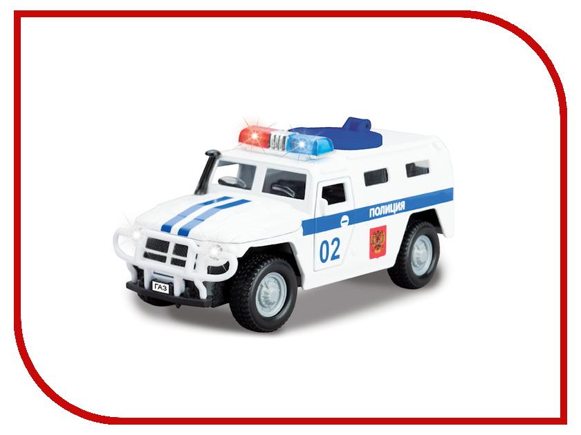 Машина Технопарк ГАЗ Тигр Полиция CT12-357-N3 машина технопарк танк т 90 ct12 374 t wb