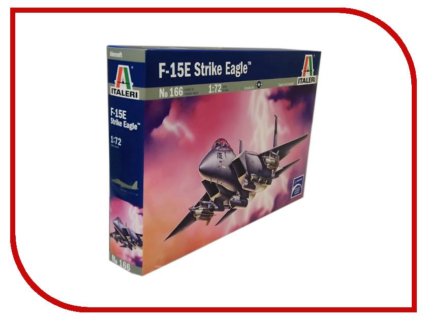 Сборная модель Italeri Самолет F-15 E Eagle 0166