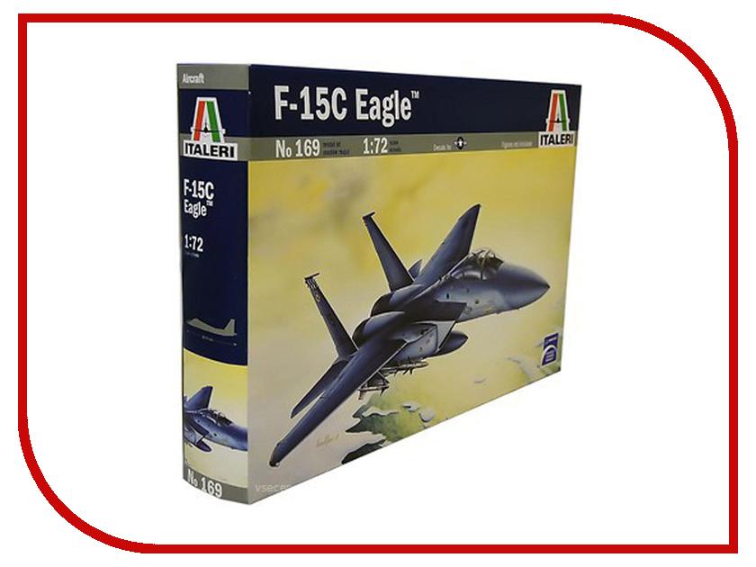 Сборная модель Italeri Самолет F-15 С Eagle 0169