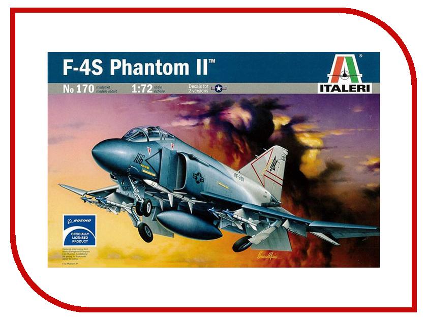 Сборная модель Italeri Самолет F-4 S Phantom 0170