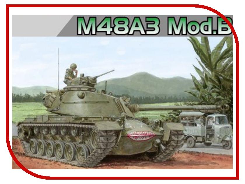 Сборная модель Dragon M48A3 MOD.B 3544 сборная модель dragon t 34 85m 3318