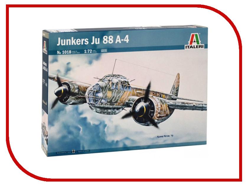 Сборная модель Italeri Самолет Ju-88 A4 1018