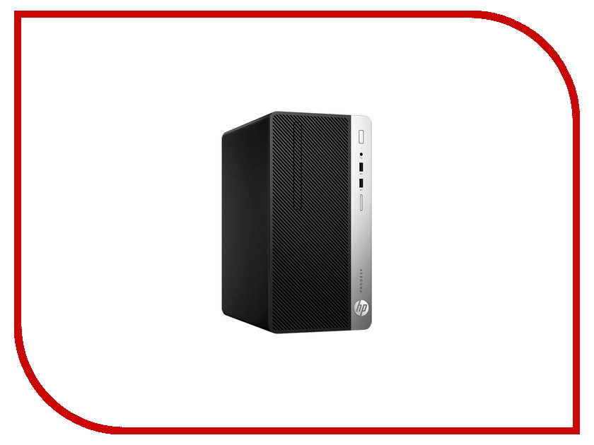 Настольный компьютер HP ProDesk 400 G4 Microtower 1EY20EA (Intel Pentium G4560 3.5 GHz/4096Mb/500Gb/DVD-RW/Intel HD Graphics 610/GbitEth/Windows 10 Professional) настольный компьютер hp prodesk 400 g4 small form factor 1ey30ea intel core i3 7100 3 9 ghz 4096mb 500gb dvd rw intel hd graphics 630 gbiteth windows 10 professional 64 bit
