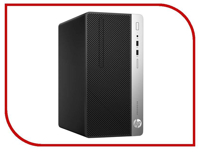 Настольный компьютер HP ProDesk 400 G4 Microtower 1EY28EA (Intel Core i5-7500 3.4 GHz/4096Mb/500Gb/DVD-RW/Intel HD Graphics 630/GbitEth/Windows 10 Professional 64-bit) hewlett packard hp лазерный мфу печать копирование сканирование