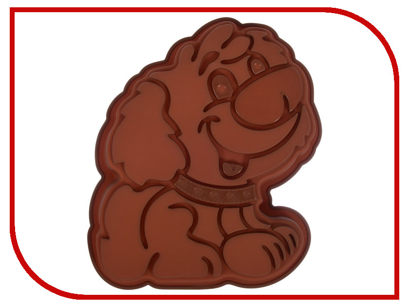 Форма из силикона Marmiton Собака 16191 форма из силикона marmiton с праздником 16120
