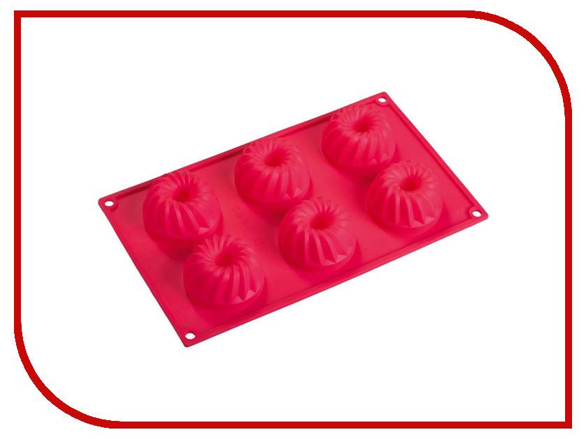 Форма для выпечки из силикона Marmiton Кексы с отверстием 16024 форма из силикона marmiton с праздником 16120