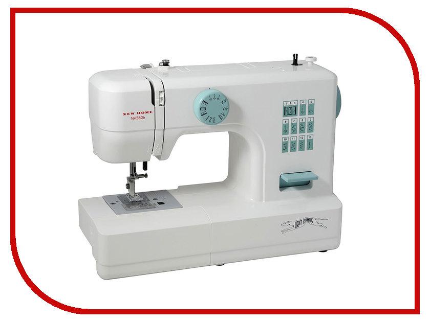 Швейная машинка New Home NH 5606 швейная машинка astralux 7350 pro series вышивальный блок ems700