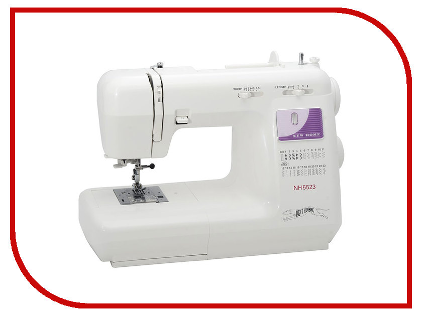 Швейная машинка New Home NH 5523 швейная машинка astralux 7350 pro series вышивальный блок ems700
