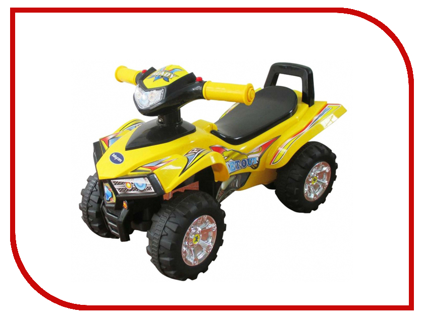 Каталка Sweet Baby ATV Yellow пушкары sweet baby каталка sweet baby giro yellow