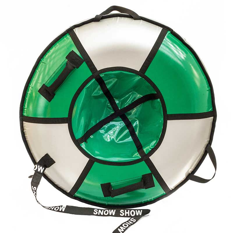 Тюбинг SnowShow Элит 90cm Light Green-Silver