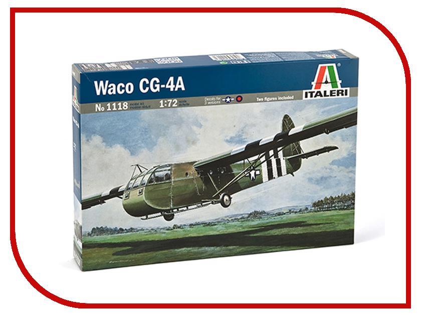 Сборная модель Italeri Планер Waco Cg-4A 1118 сборная модель italeri самолет cant z 506 airone 1360
