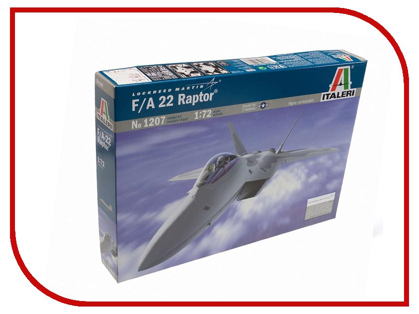 Сборная модель Italeri Самолет F-22 Raptor 1207