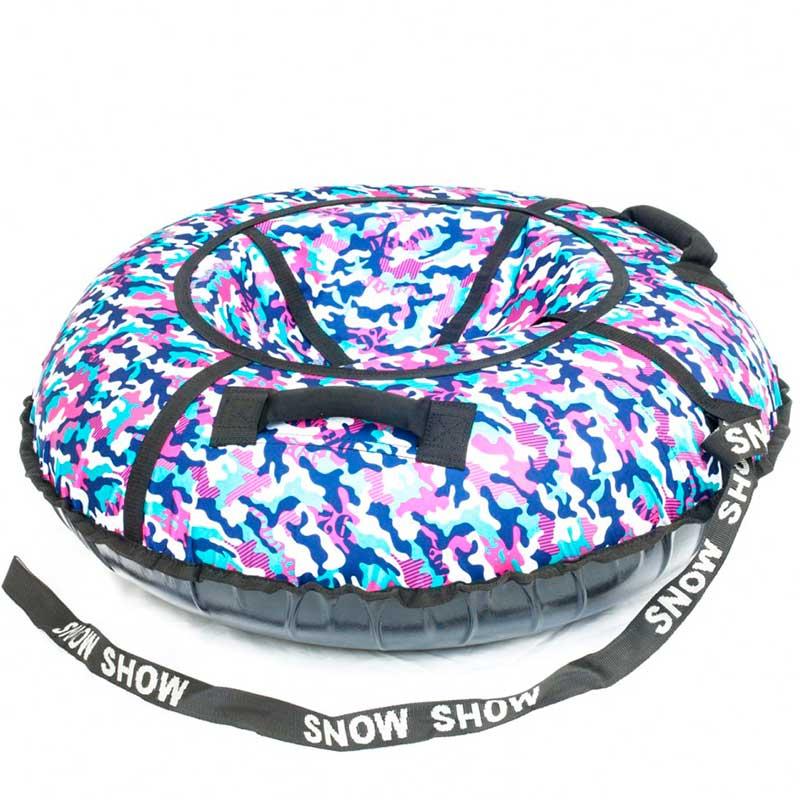 Тюбинг SnowShow Стандарт 120cm Khaki Pink