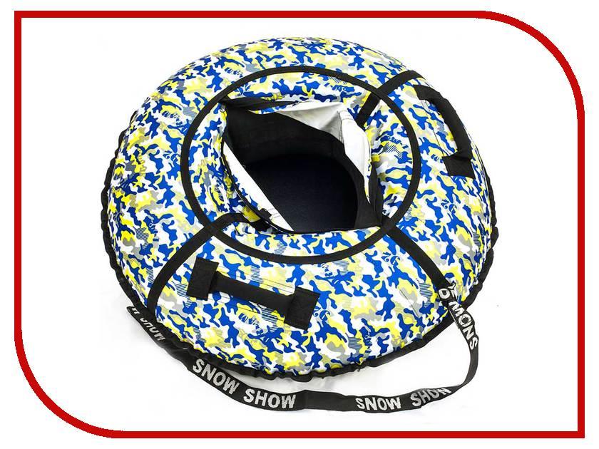 Тюбинг SnowShow Стандарт 120cm Khaki Yellow