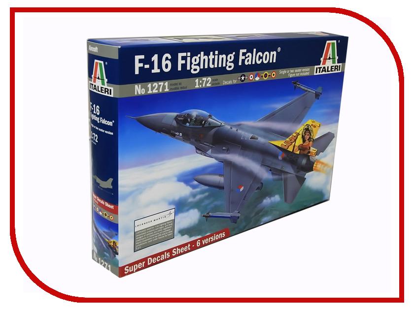 Сборная модель Italeri Самолет F-16 A/B Fighting Falcon 1271