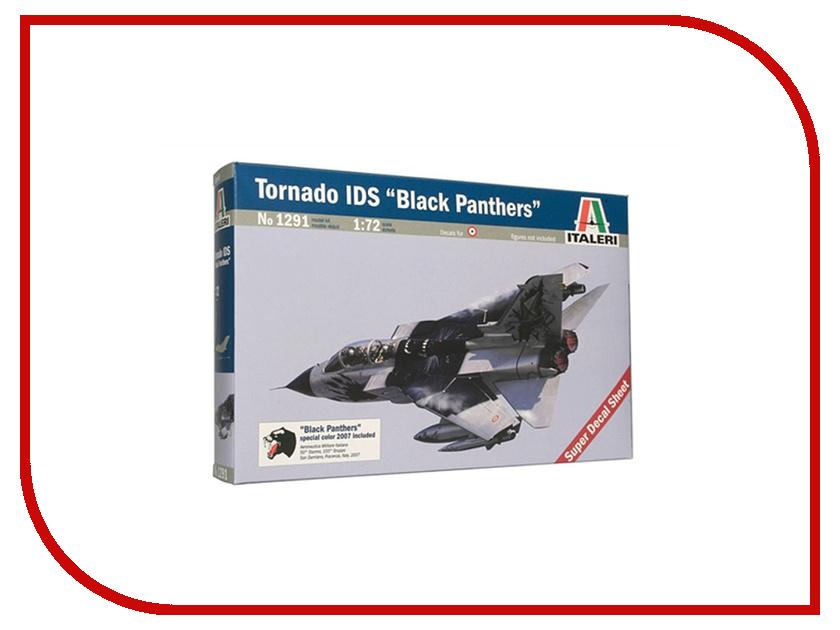 Сборная модель Italeri Самолет Tornado IDS Черная пантера 1291 сборная модель italeri самолет stirling mk iv 1350