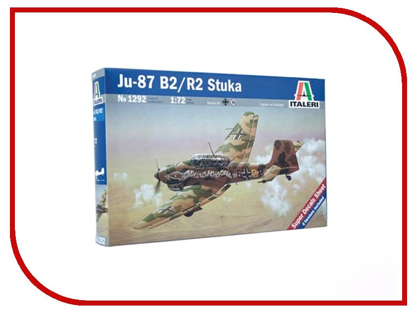 Сборная модель Italeri Самолет JU-87 B2 Stuka 1292 ju ju be сумка для мамы hobobe black petals