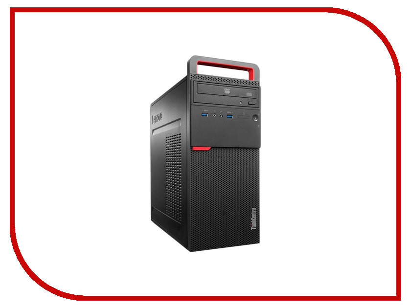Настольный компьютер Lenovo ThinkCentre M700 MT 10GRS09J00 (Intel Core i3-6100 3.7 GHz/4096Mb/1000Gb/DVD-RW/Intel HD Graphics/GbitEth/Windows 10 Professional 64-bit)