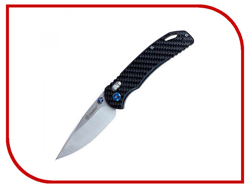 Нож Ganzo G7531-CF Carbon - длина лезвия 88мм ganzo g302b мультитул