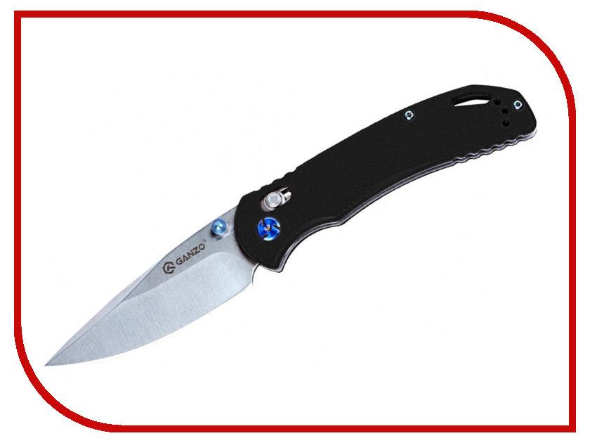Нож Ganzo G7531-BK Black - длина лезвия 88мм нож ganzo g7301 or orange длина лезвия 88мм