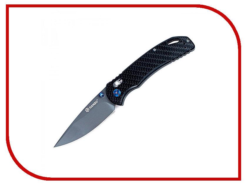 Нож Ganzo G7533-CF Carbon - длина лезвия 88мм ganzo g302b мультитул
