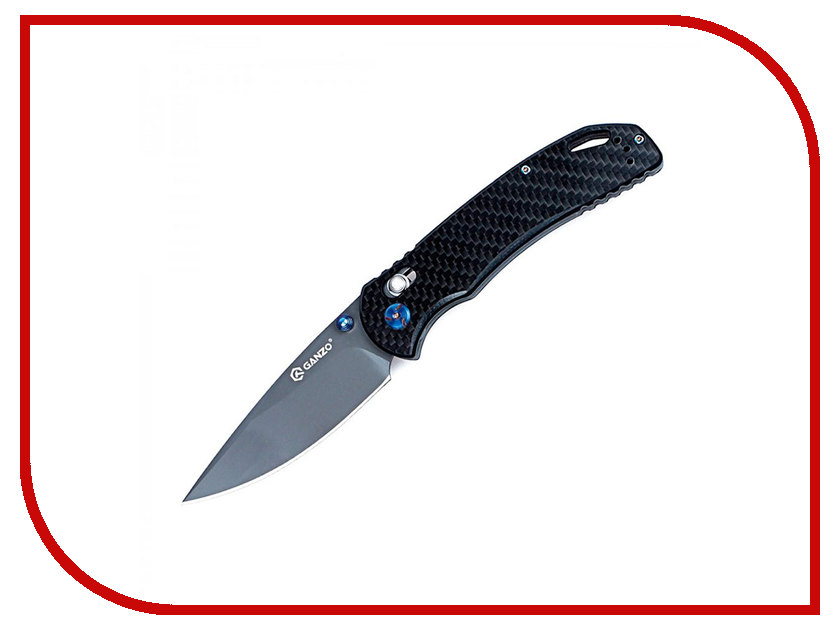 Нож Ganzo G7533-CF Carbon - длина лезвия 88мм ganzo g704 g