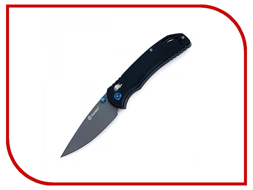 Нож Ganzo G7533-BK Black - длина лезвия 88мм ganzo g302b мультитул