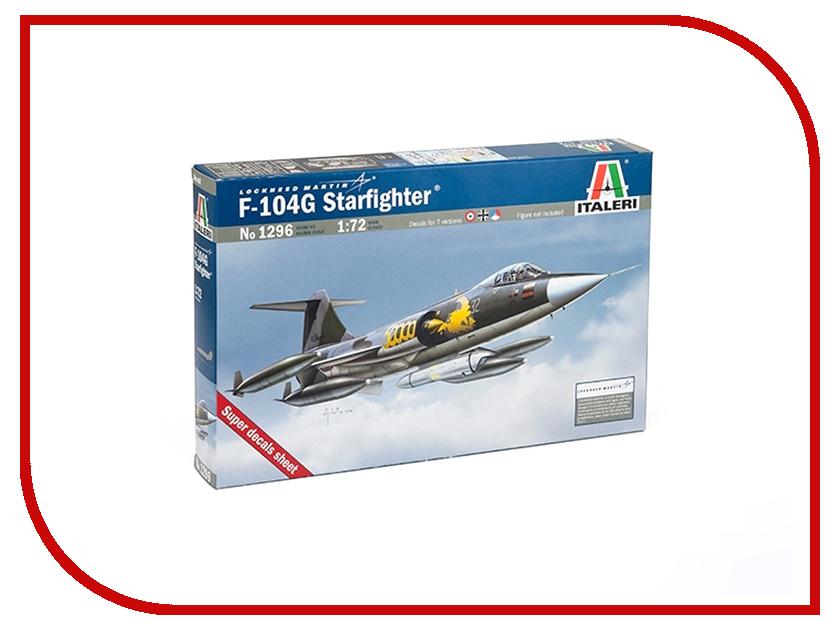 Сборная модель Italeri Самолет F-104G Starfighter 1296
