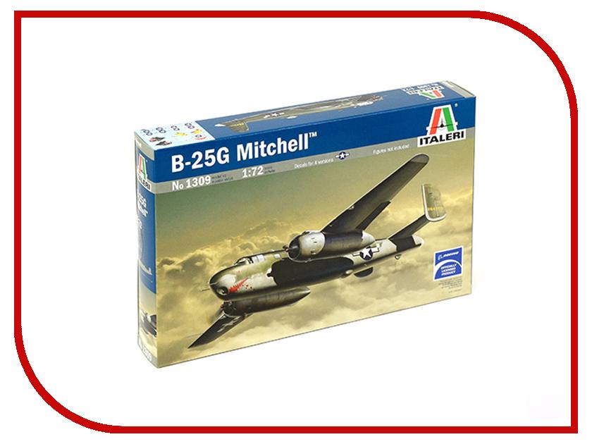 Сборная модель Italeri Самолет B-25G 1309 сборная модель italeri самолет cant z 506 airone 1360
