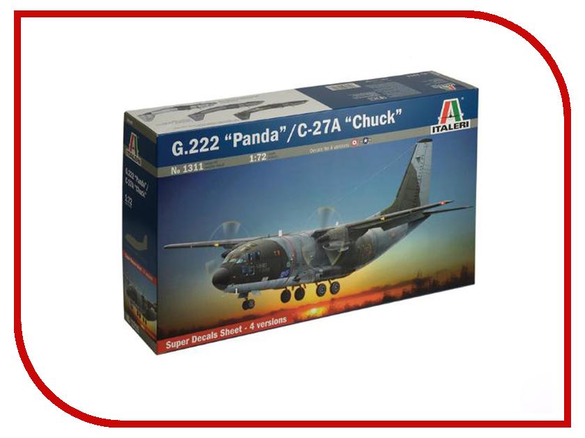Сборная модель Italeri Самолет G.222 Panda / C-27 A Chuck 1311 сборная модель italeri самолет cant z 506 airone 1360