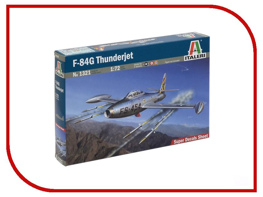 Сборная модель Italeri Самолет F-84 G Thunderjet 1321