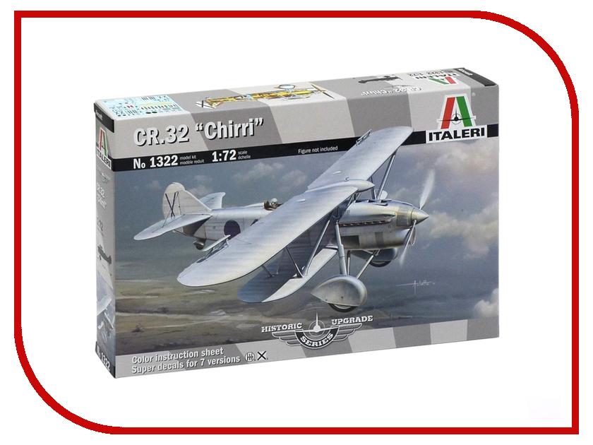 Сборная модель Italeri Самолет CR.32 Chirri 1322