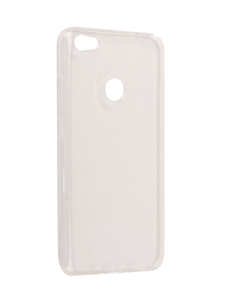 Чехол Gecko для Xiaomi Redmi Note 5X Silicone Transparent White
