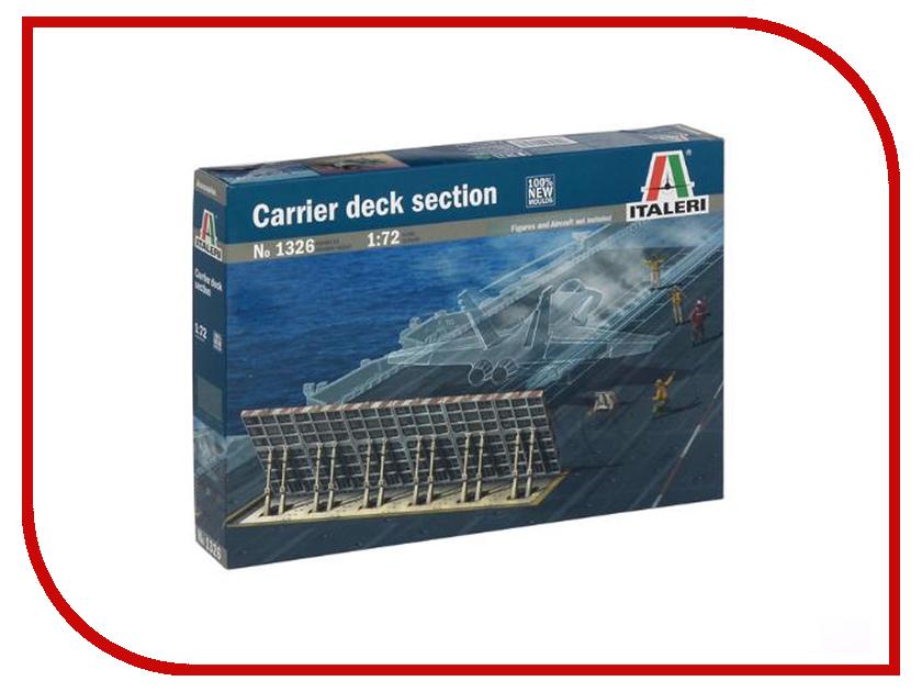 Сборная модель Italeri Часть палубы авианосца 1326