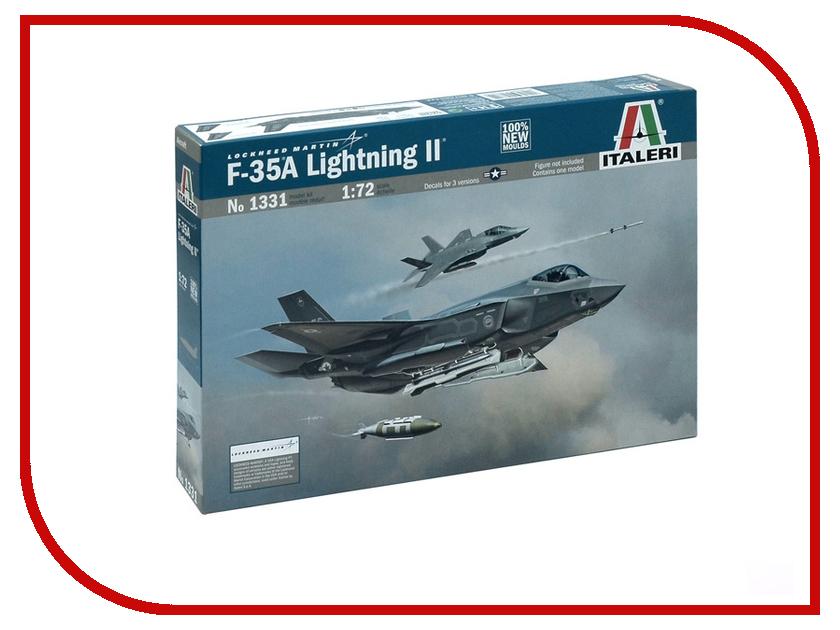 Сборная модель Italeri Самолет lockheed F-35 A Lightning II 1331